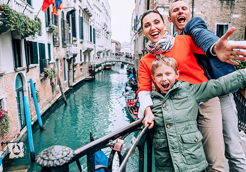 venice family holiday